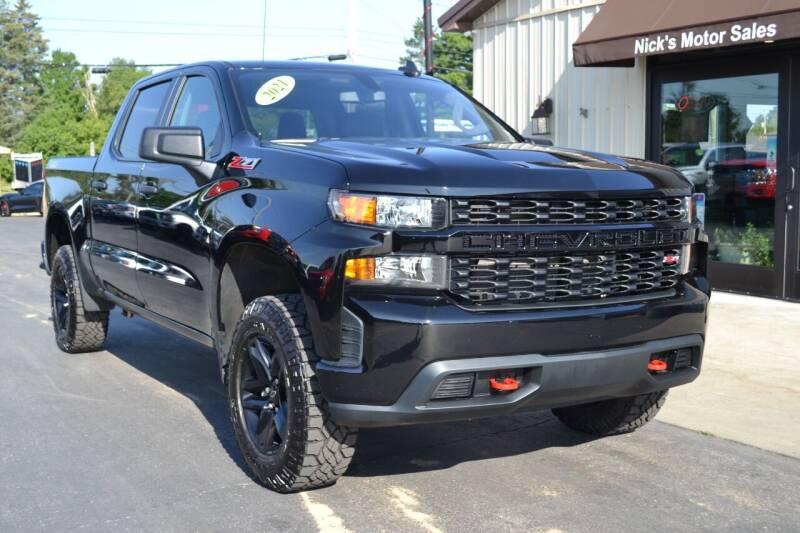 2021 Chevrolet Silverado 1500 for sale at Nick's Motor Sales LLC in Kalkaska MI