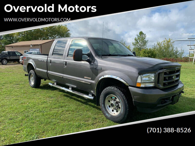 2003 Ford F-350 Super Duty for sale at Overvold Motors in Detroit Lakes MN