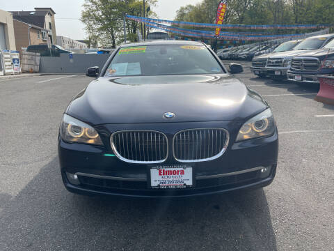 2012 BMW 7 Series for sale at Elmora Auto Sales in Elizabeth NJ