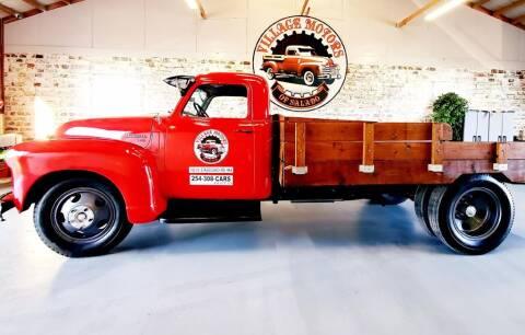 1950 Chevrolet 4400 W/FLATBED for sale at Village Motors Of Salado in Salado TX