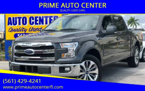 2017 Ford F-150 for sale at PRIME AUTO CENTER in Palm Springs FL