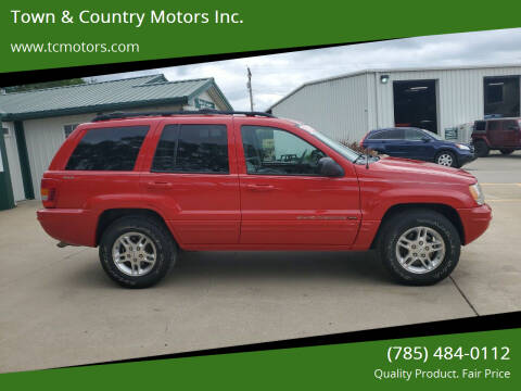2000 Jeep Grand Cherokee for sale at Town & Country Motors Inc. in Meriden KS