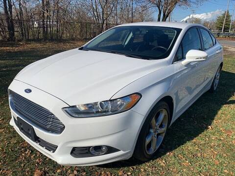 2015 Ford Fusion for sale at CItywide Auto Credit in Oregon OH