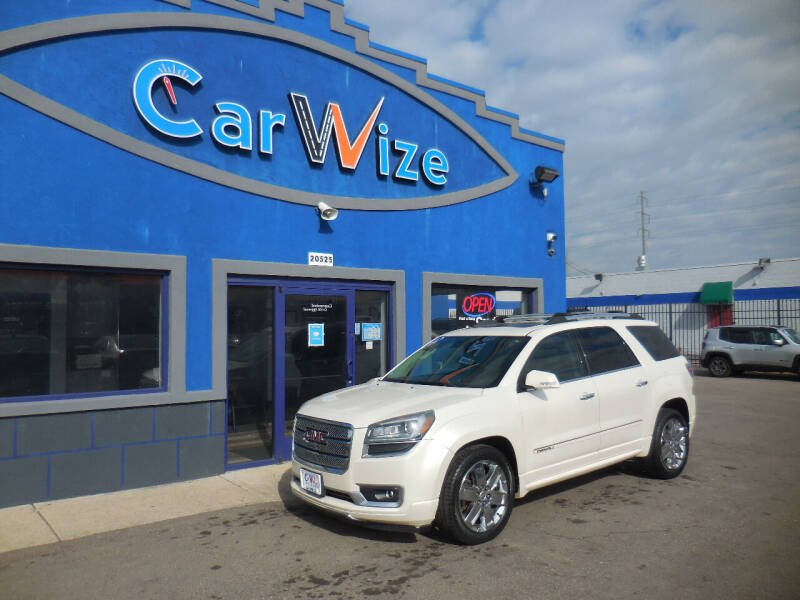 2014 GMC Acadia for sale at Carwize in Detroit MI