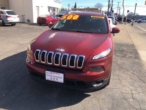 2014 Jeep Cherokee for sale at National Auto Sales Inc. - Hazel Park Lot in Hazel Park MI