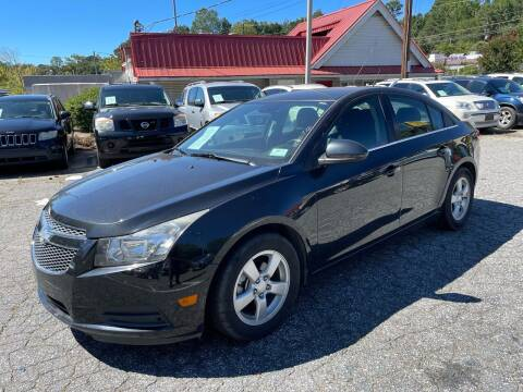 2014 Chevrolet Cruze for sale at Car Online in Roswell GA