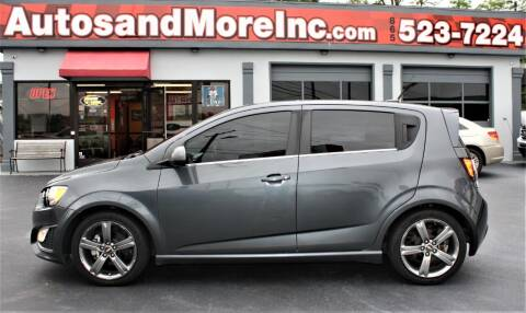 2013 Chevrolet Sonic for sale at Autos and More Inc in Knoxville TN