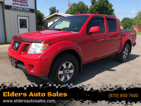 2009 Nissan Frontier for sale at Elders Auto Sales in Pine Bluff AR