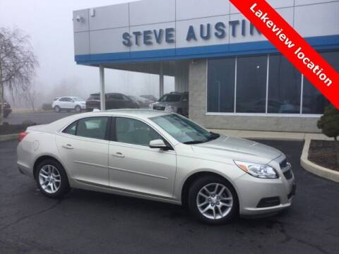 2013 Chevrolet Malibu for sale at Austins At The Lake in Lakeview OH