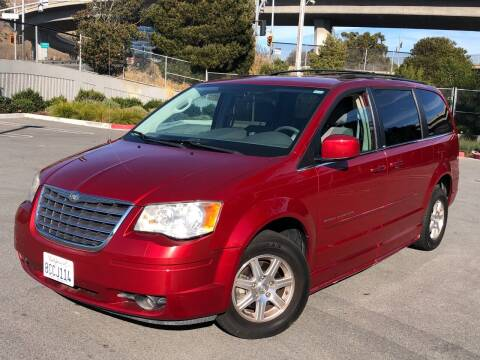 2008 Chrysler Town and Country for sale at CITY MOTOR SALES in San Francisco CA