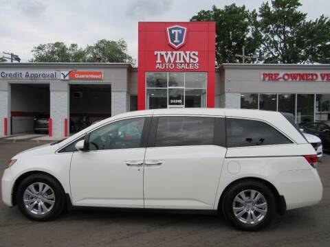 2016 Honda Odyssey for sale at Twins Auto Sales Inc - Detroit in Detroit MI