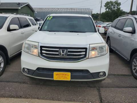 2012 Honda Pilot for sale at Brothers Used Cars Inc in Sioux City IA