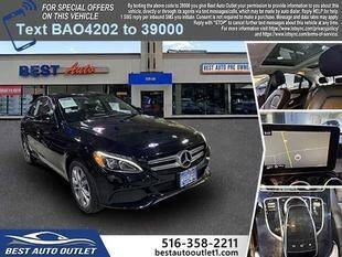2016 Mercedes-Benz C-Class for sale at Best Auto Outlet in Floral Park NY