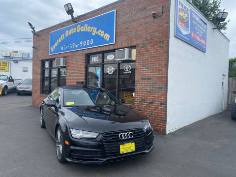 2016 Audi A7 for sale at Everett Auto Gallery in Everett MA