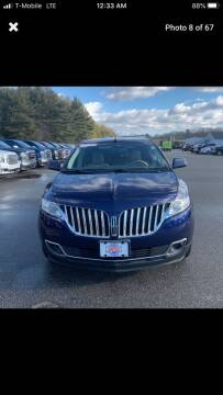 2011 Lincoln MKX for sale at Worldwide Auto Sales in Fall River MA