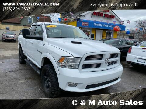 2010 Dodge Ram Pickup 1500 for sale at C & M Auto Sales in Detroit MI