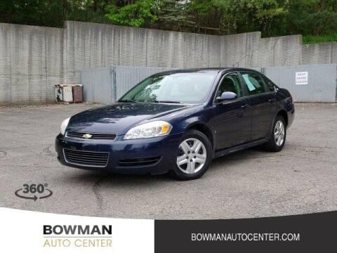 2009 Chevrolet Impala for sale at Bowman Auto Center in Clarkston MI