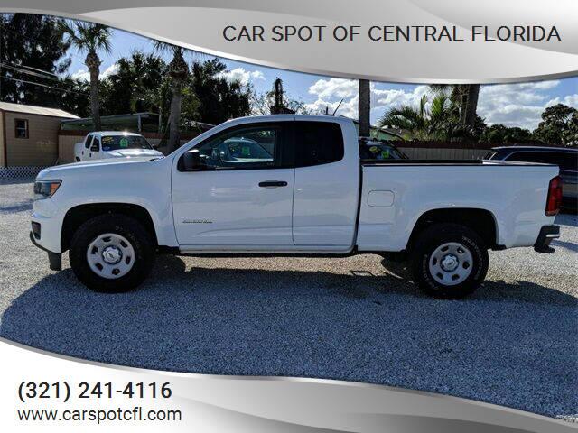 2016 Chevrolet Colorado for sale at Car Spot Of Central Florida in Melbourne FL