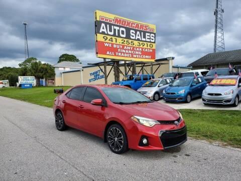 2015 Toyota Corolla for sale at Mox Motors in Port Charlotte FL