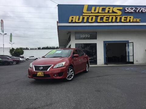 2013 Nissan Sentra for sale at Lucas Auto Center in South Gate CA