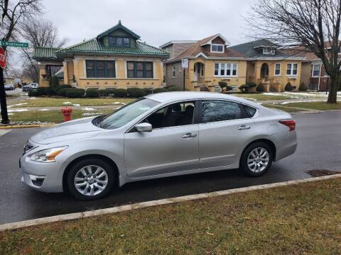 2013 Nissan Altima for sale at Apollo Motors INC in Chicago IL