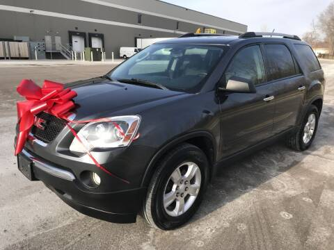 2012 GMC Acadia for sale at Angies Auto Sales LLC in Newport MN