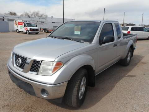 2007 Nissan Frontier for sale at AUGE'S SALES AND SERVICE in Belen NM