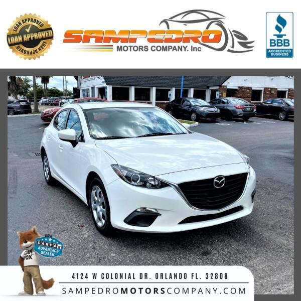 2015 Mazda MAZDA3 for sale at SAMPEDRO MOTORS COMPANY INC in Orlando FL
