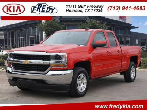 2019 Chevrolet Silverado 1500 LD for sale at FREDYS CARS FOR LESS in Houston TX