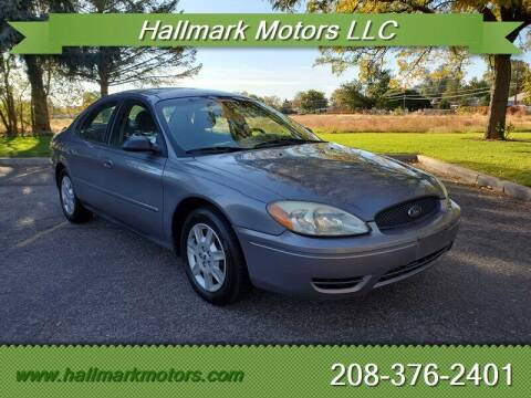 2007 Ford Taurus for sale at HALLMARK MOTORS LLC in Boise ID