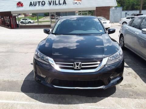 2015 Honda Accord for sale at Auto Villa in Danville VA