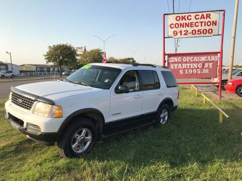 2002 Ford Explorer for sale at OKC CAR CONNECTION in Oklahoma City OK