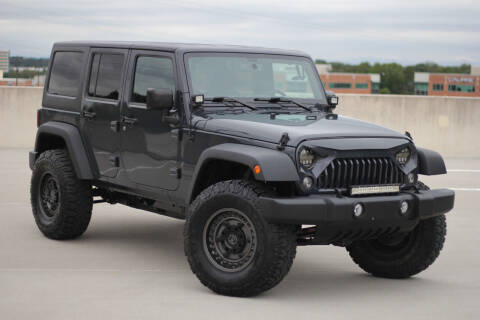 2016 Jeep Wrangler Unlimited for sale at Car Match in Temple Hills MD