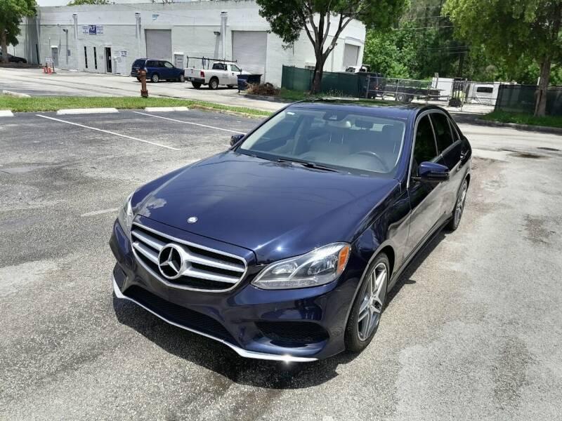 2015 Mercedes-Benz E-Class for sale at Best Price Car Dealer in Hallandale Beach FL