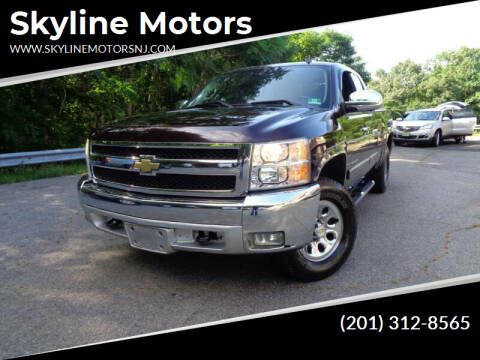 2008 Chevrolet Silverado 1500 for sale at Skyline Motors in Ringwood NJ