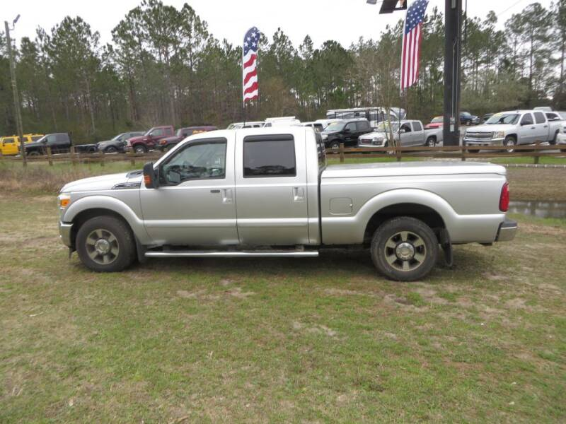 2011 Ford F-250 Super Duty for sale at Ward's Motorsports in Pensacola FL