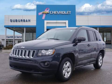 2014 Jeep Compass for sale at Suburban Chevrolet of Ann Arbor in Ann Arbor MI