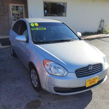2008 Hyundai Accent for sale at Easy Credit Auto Sales in Cocoa FL