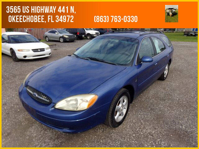 2003 Ford Taurus for sale at M & M AUTO BROKERS INC in Okeechobee FL