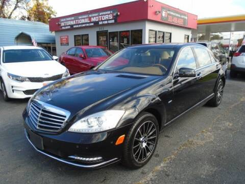 2012 Mercedes-Benz S-Class for sale at International Motors in Laurel MD