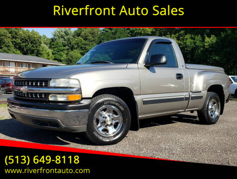 1999 Chevrolet Silverado 1500 for sale at Riverfront Auto Sales in Middletown OH
