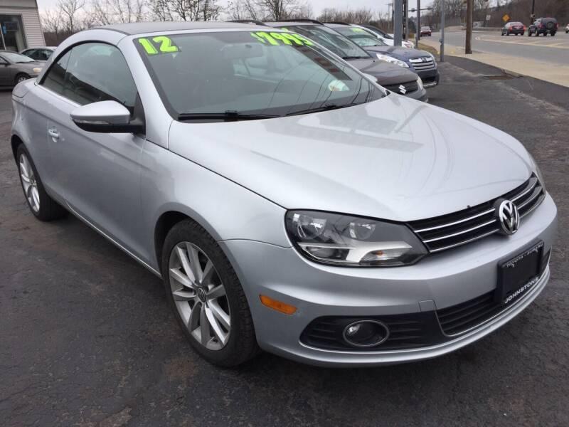 2012 Volkswagen Eos for sale at Rinaldi Auto Sales Inc in Taylor PA