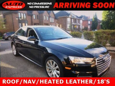2018 Audi A4 for sale at Auto Express in Lafayette IN