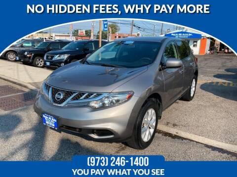 2011 Nissan Murano for sale at Route 46 Auto Sales Inc in Lodi NJ