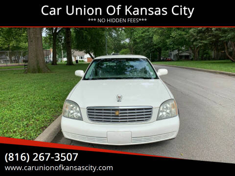 2004 Cadillac DeVille for sale at Car Union Of Kansas City in Kansas City MO