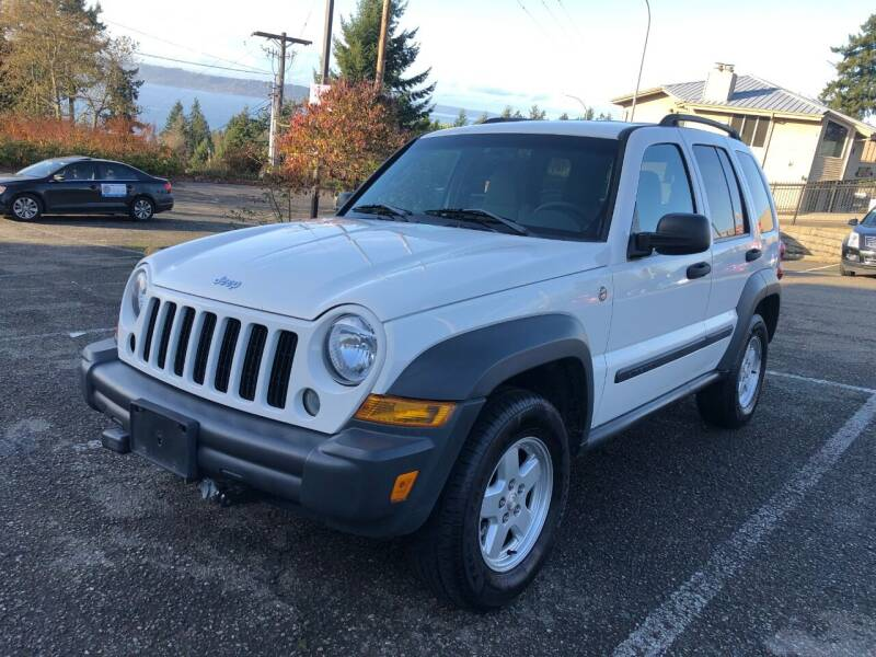 2006 Jeep Liberty for sale at KARMA AUTO SALES in Federal Way WA