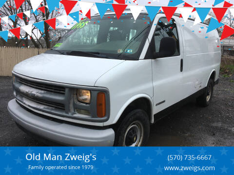 2001 Chevrolet Express Cargo for sale at Old Man Zweig's in Plymouth Township PA