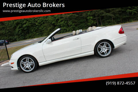 2009 Mercedes-Benz CLK for sale at Prestige Auto Brokers in Raleigh NC