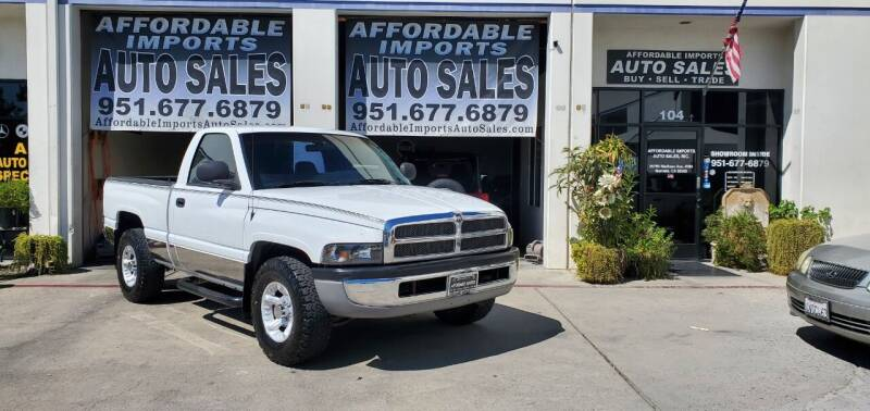 2000 Dodge Ram Pickup 1500 for sale at Affordable Imports Auto Sales in Murrieta CA