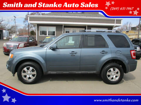 2012 Ford Escape for sale at Smith and Stanke Auto Sales in Sturgis MI